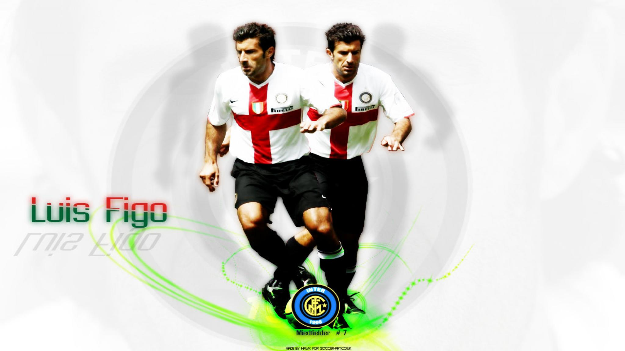 Luis Figo Wallpapers Desktop 1280x800 WallpapersExpertcom 2048x1152