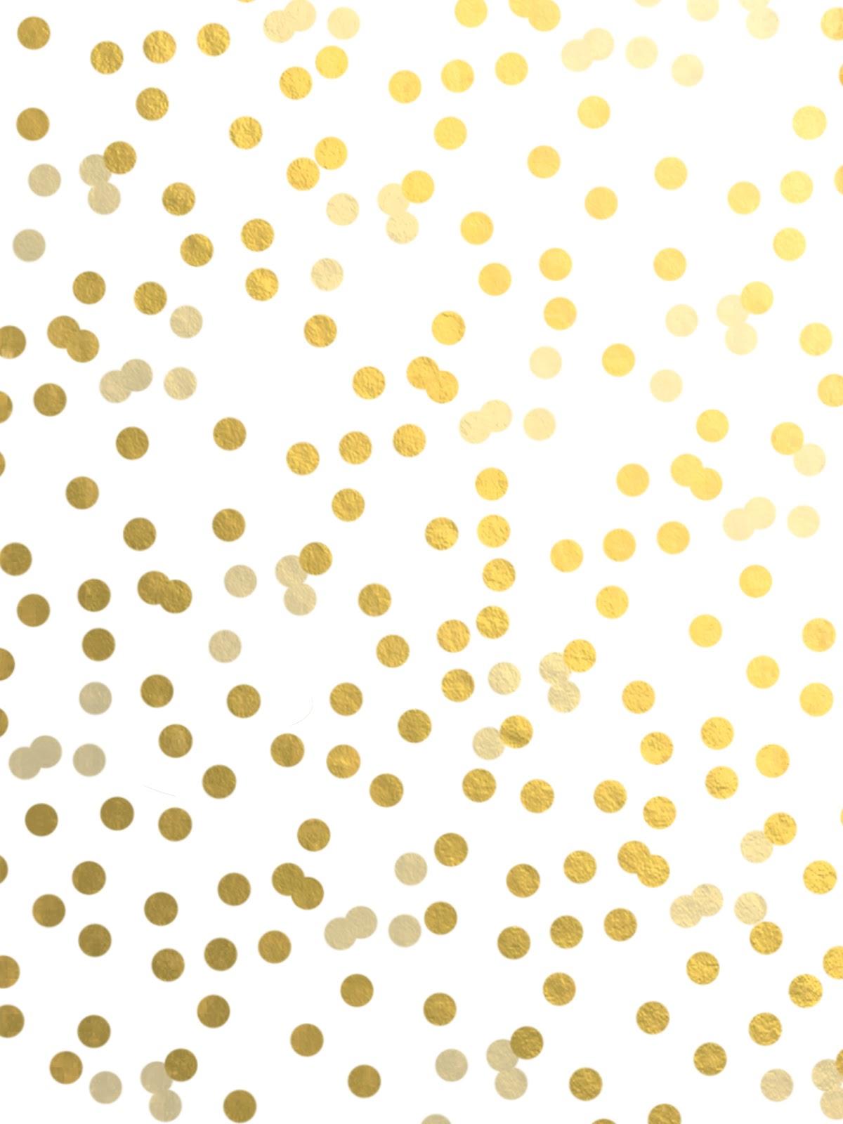 Gold Polka Dot Wallpaper Gold polka dot 1200x1600