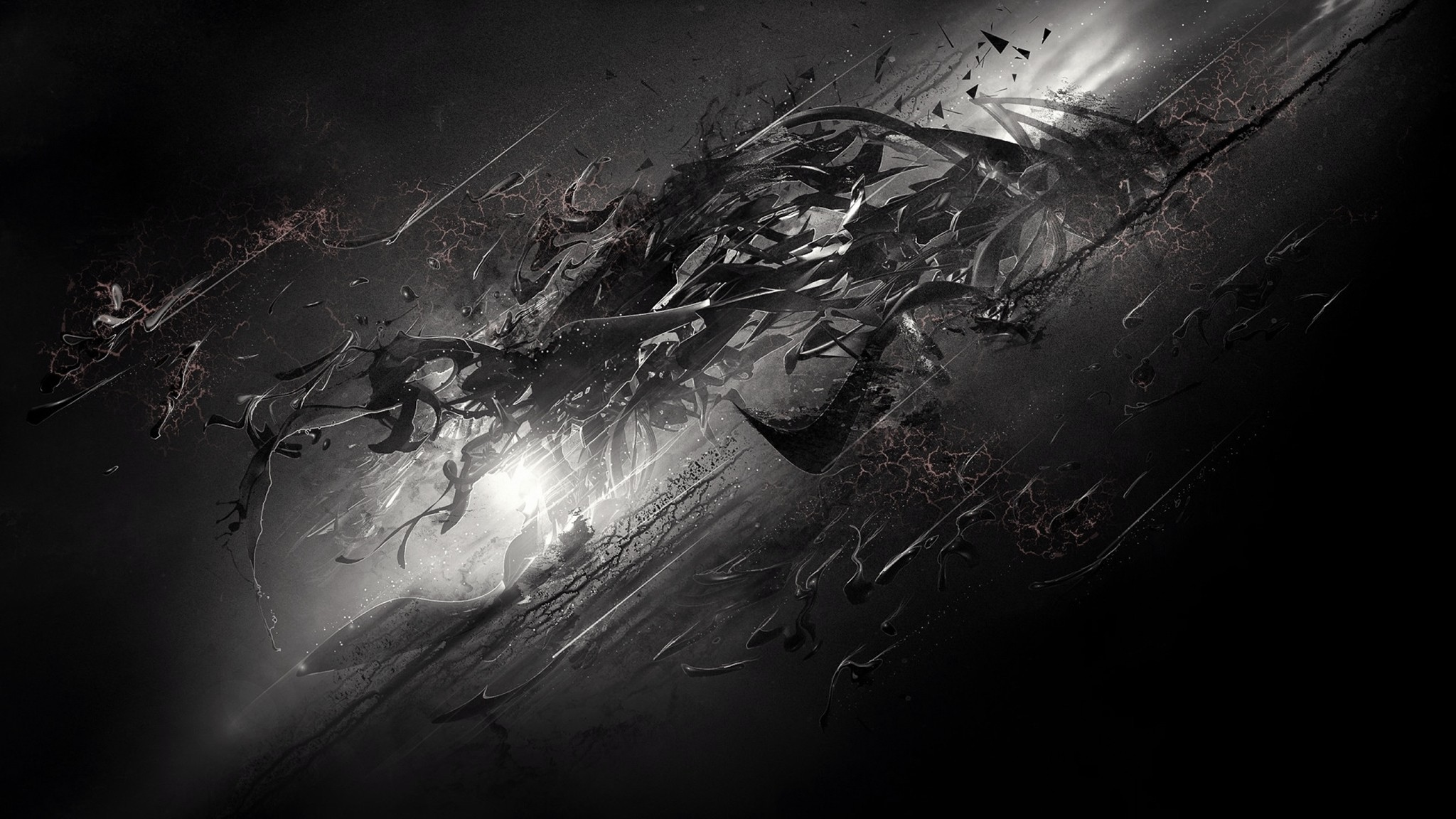 78 Dark Abstract Wallpapers on WallpaperPlay 2048x1152