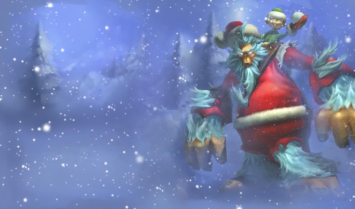 Frozen Yeti League Of Legends Christmas Nunu League of Legends 1215x717