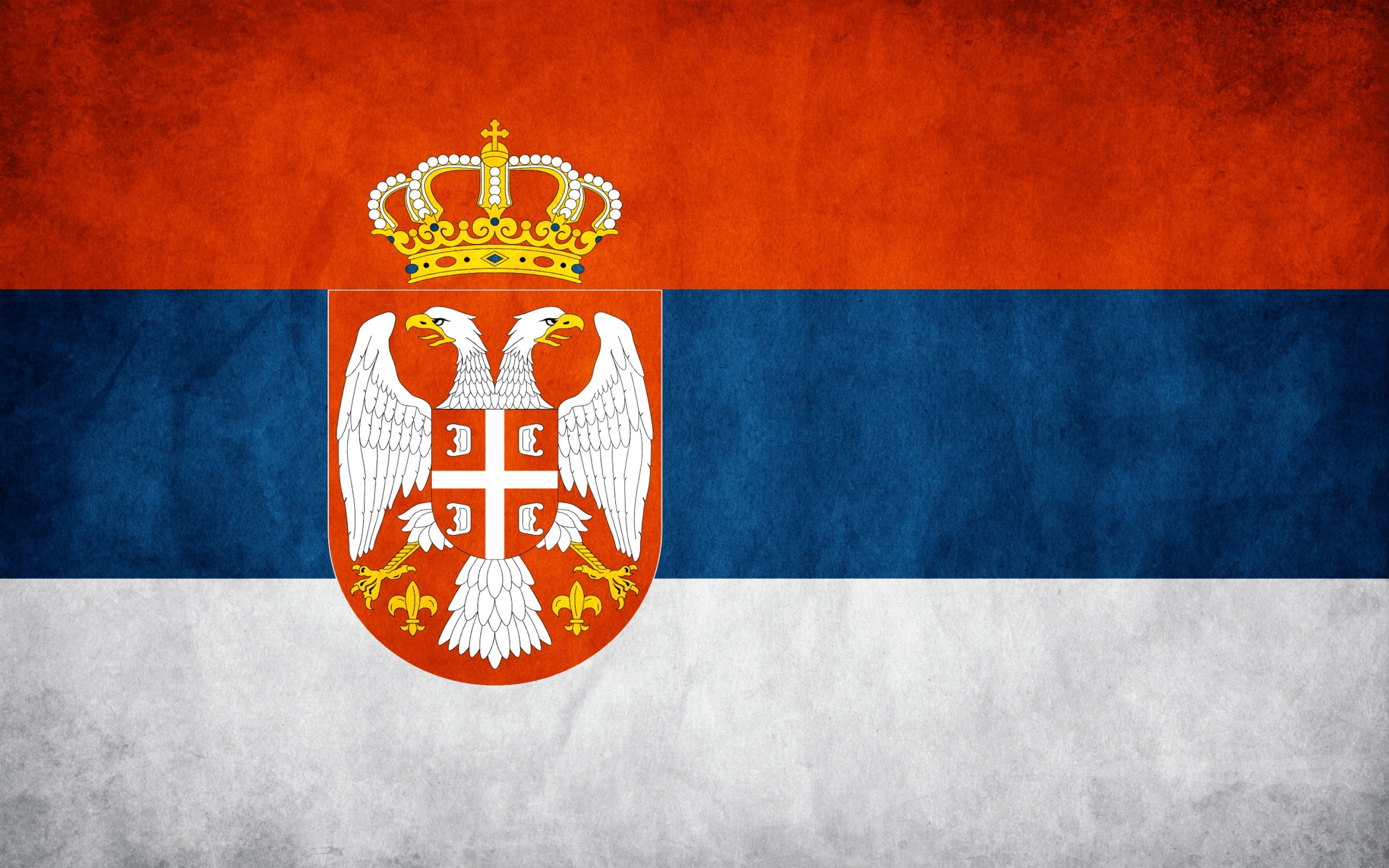 6 HD Serbia Flag Wallpapers 2560x1600