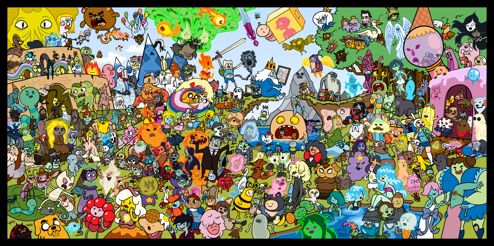 Adventure TimeHD Wallpapers 1603x800