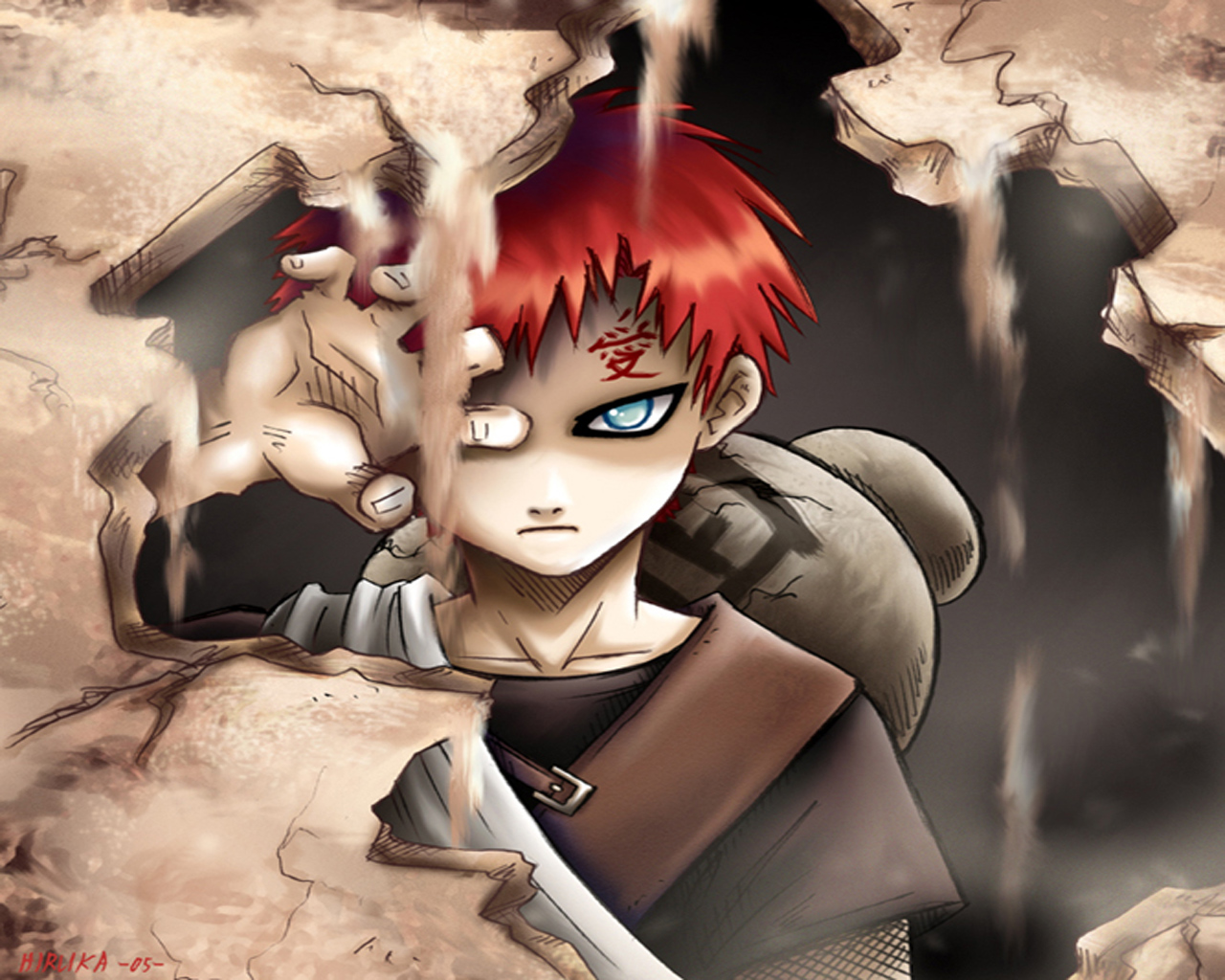 Gaara Shukaku Wallpaper High Quality Wallpaper Area HD 1280x1024
