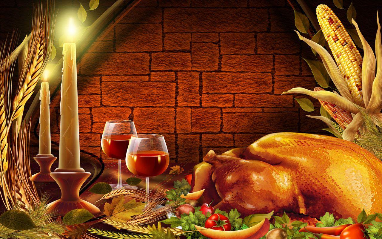 3d Thanksgiving Wallpapers 1280x800