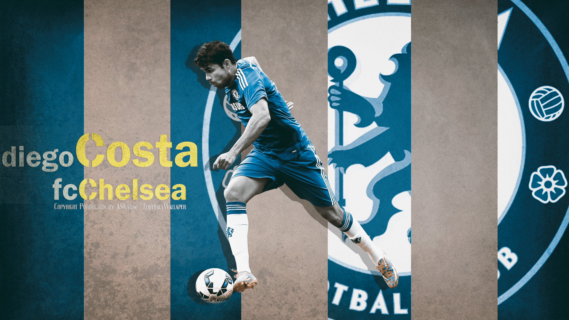 Free Download Diego Costa Wallpaper Fc Chelsea 20142015 By