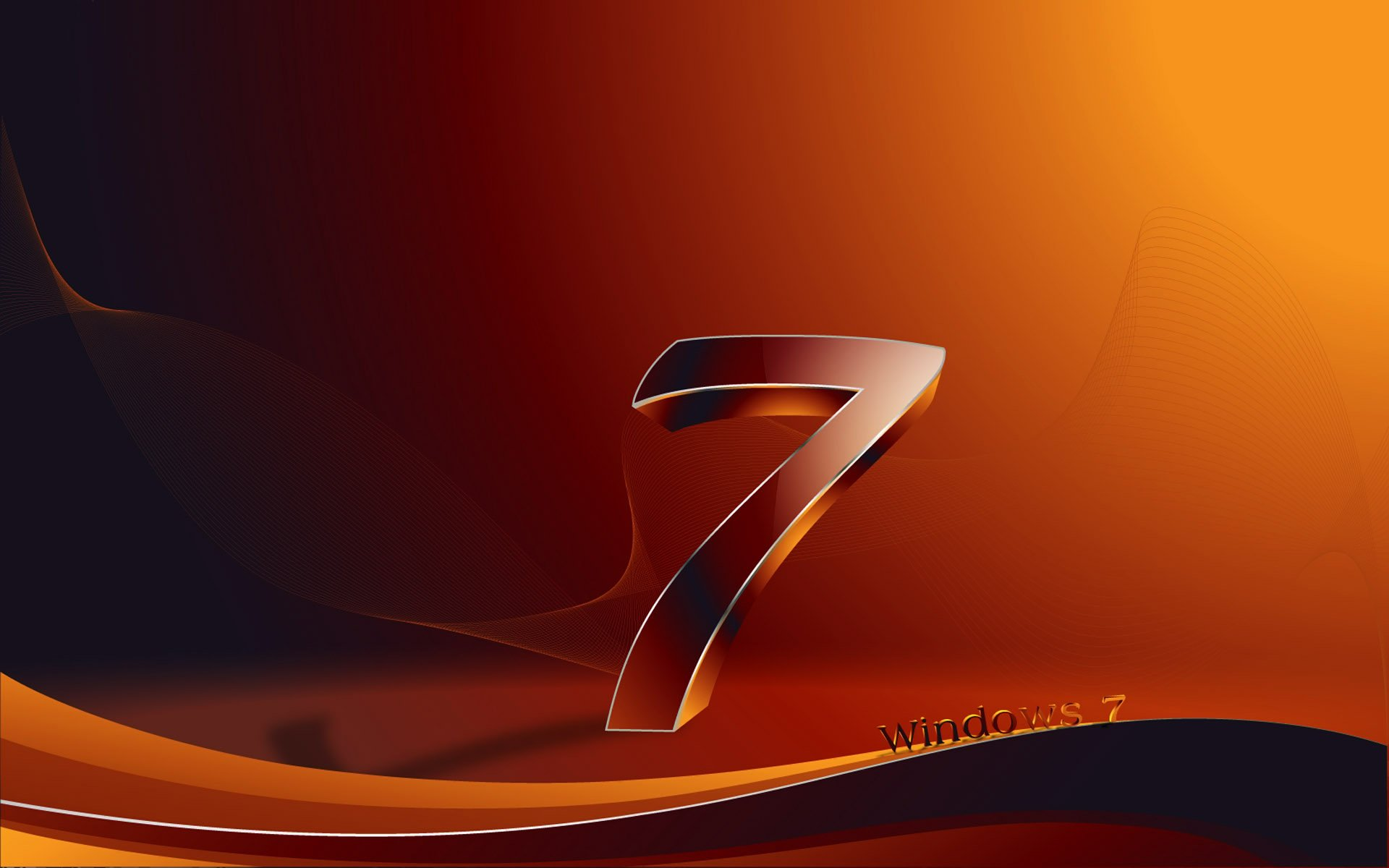 3D Windows 7 Wallpapers HD Wallpapers 1920x1200