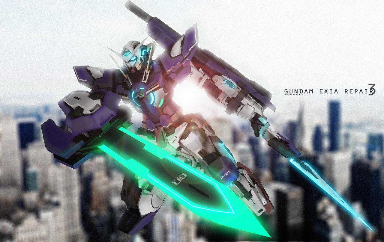 GN 001REIII Gundam Exia Repair III by romerskixx 1280x808