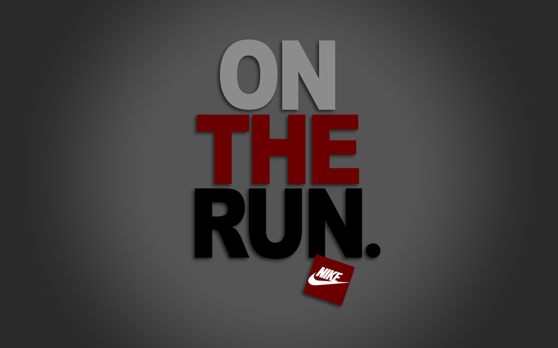 nike on the run wallpaper hd backgrounds for mobile and pc free images 1920x1200