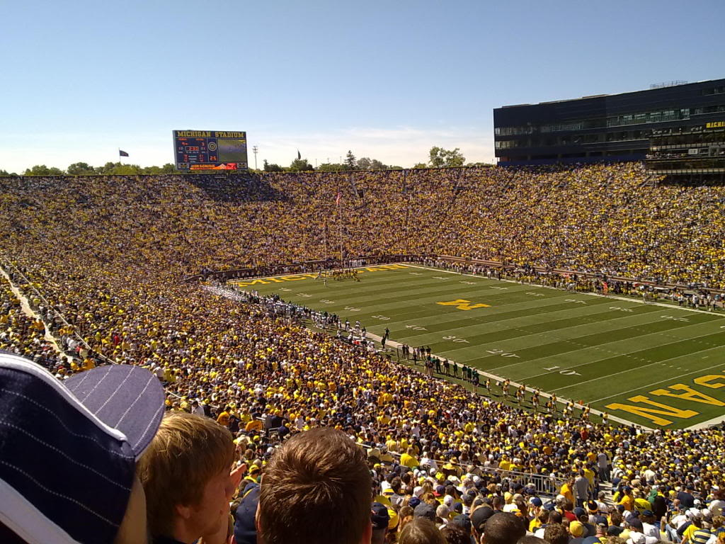 michigan football field wallpaper - photo #8