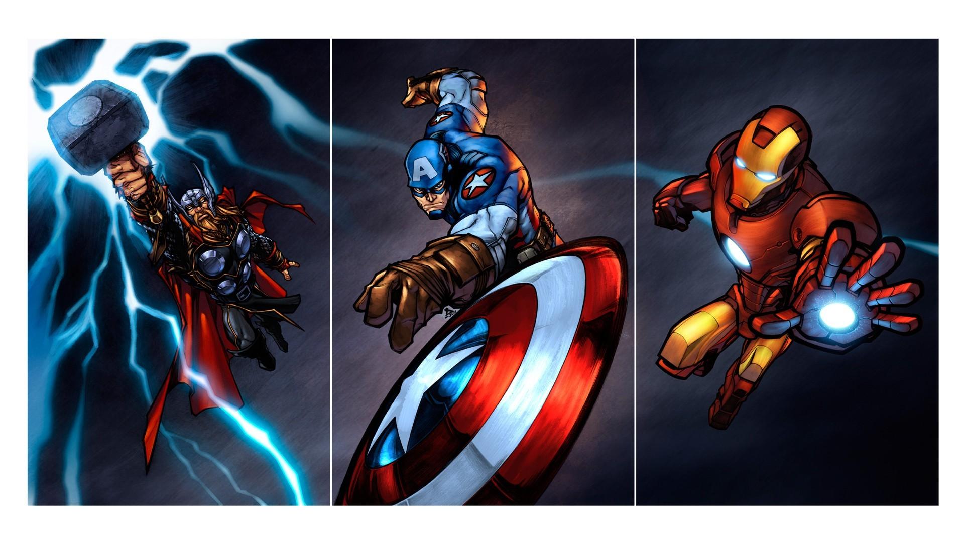 49+ Avengers Cartoon Wallpaper on WallpaperSafari