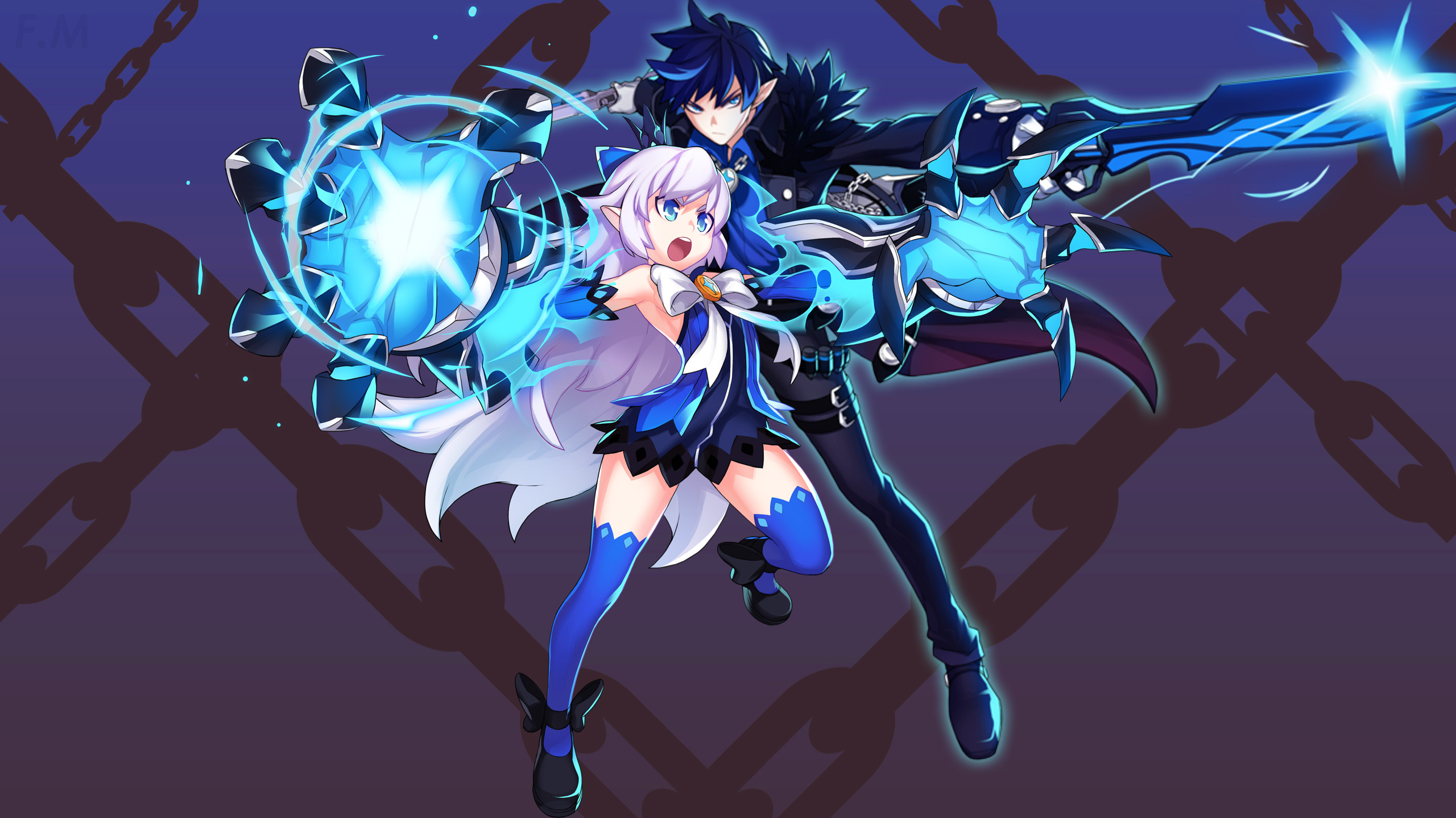 Elsword Lord Knight Wallpaper 63 images 2560x1440