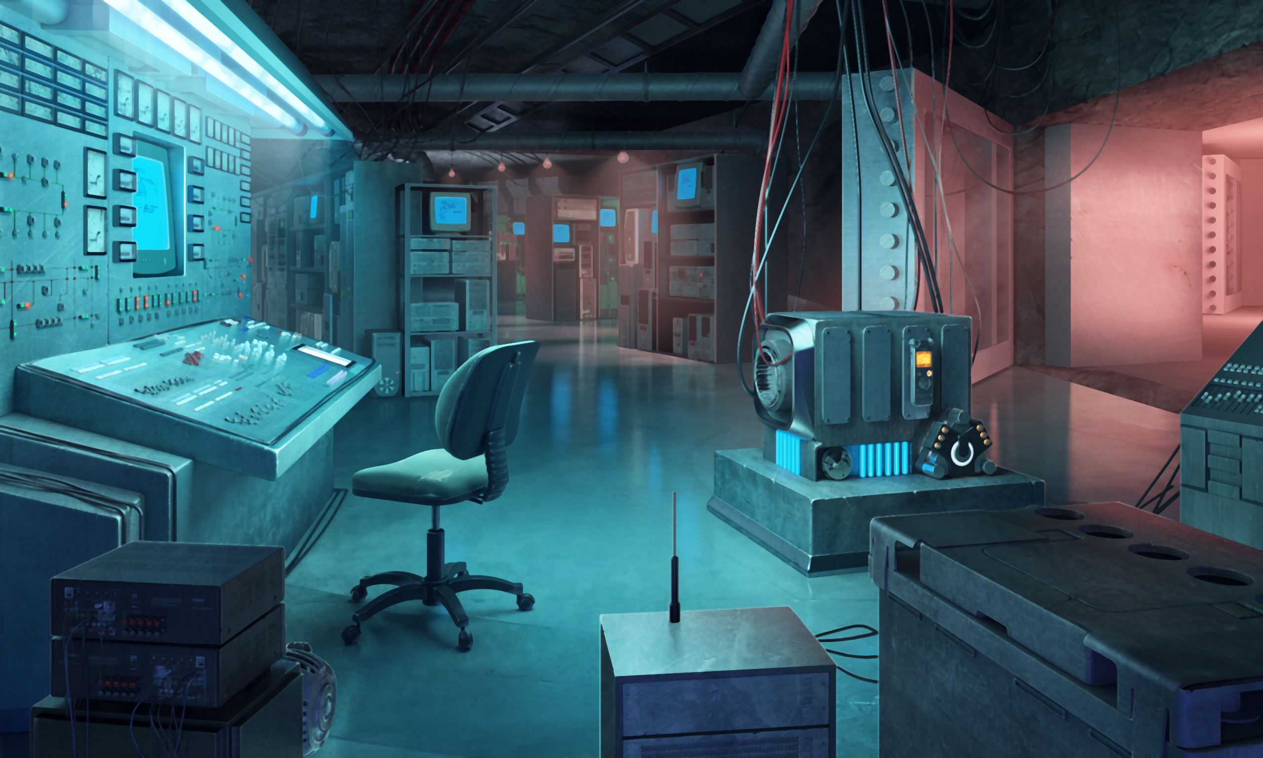 Bunker xfiles background deepstate bunker Background Scenes 2559x1536