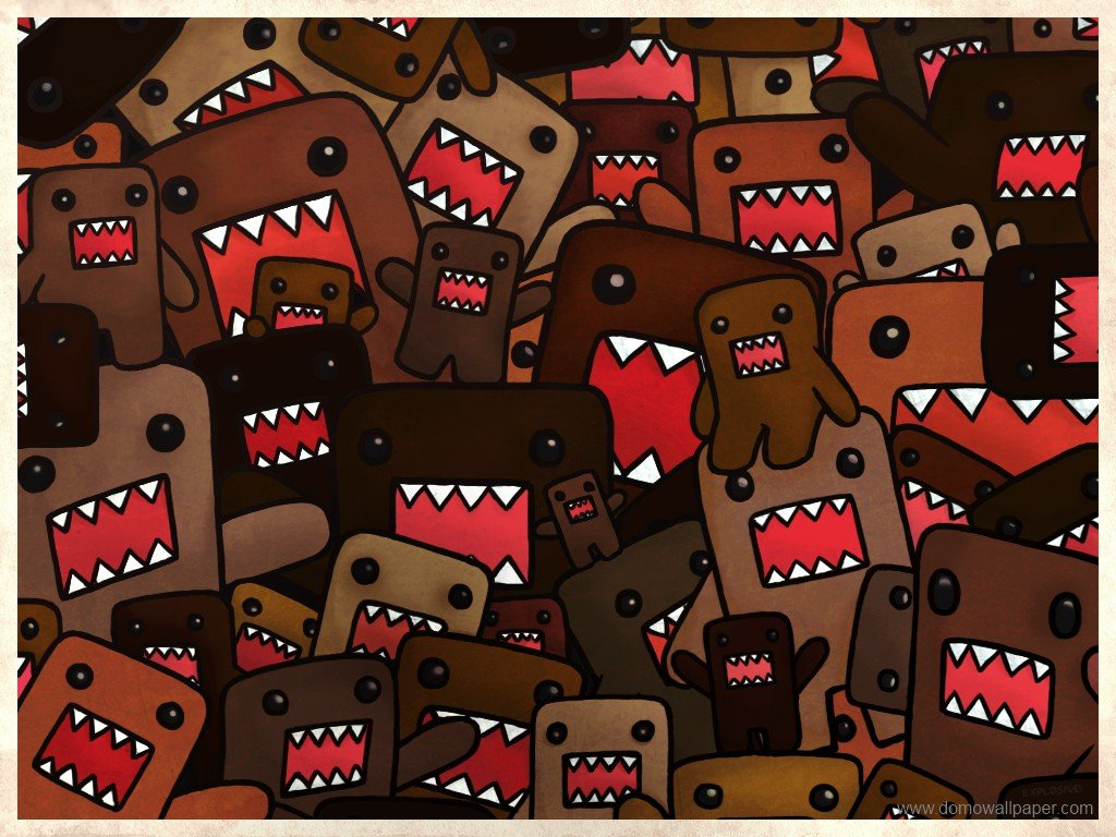 Domo Kun Iphone Wallpaper Desktop wallpaper 1024x768