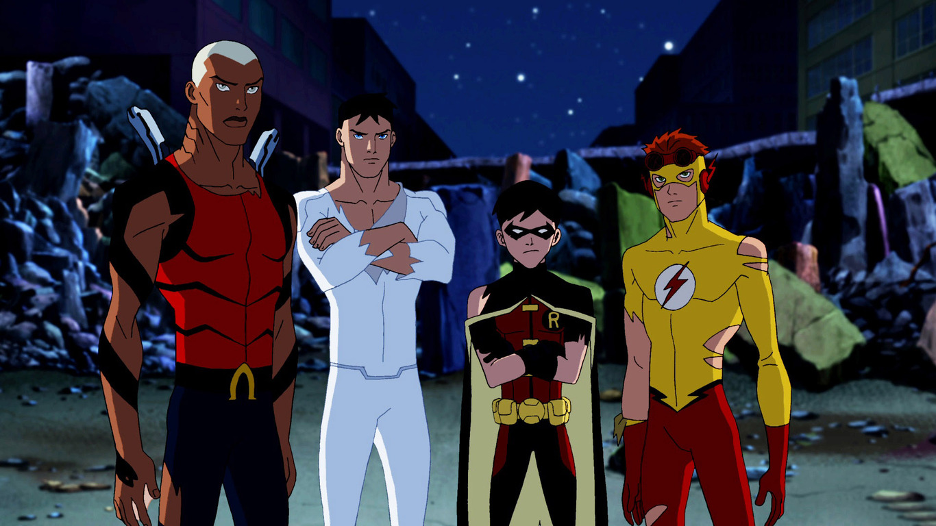 Young Justice wallpaper 13171 1366x768