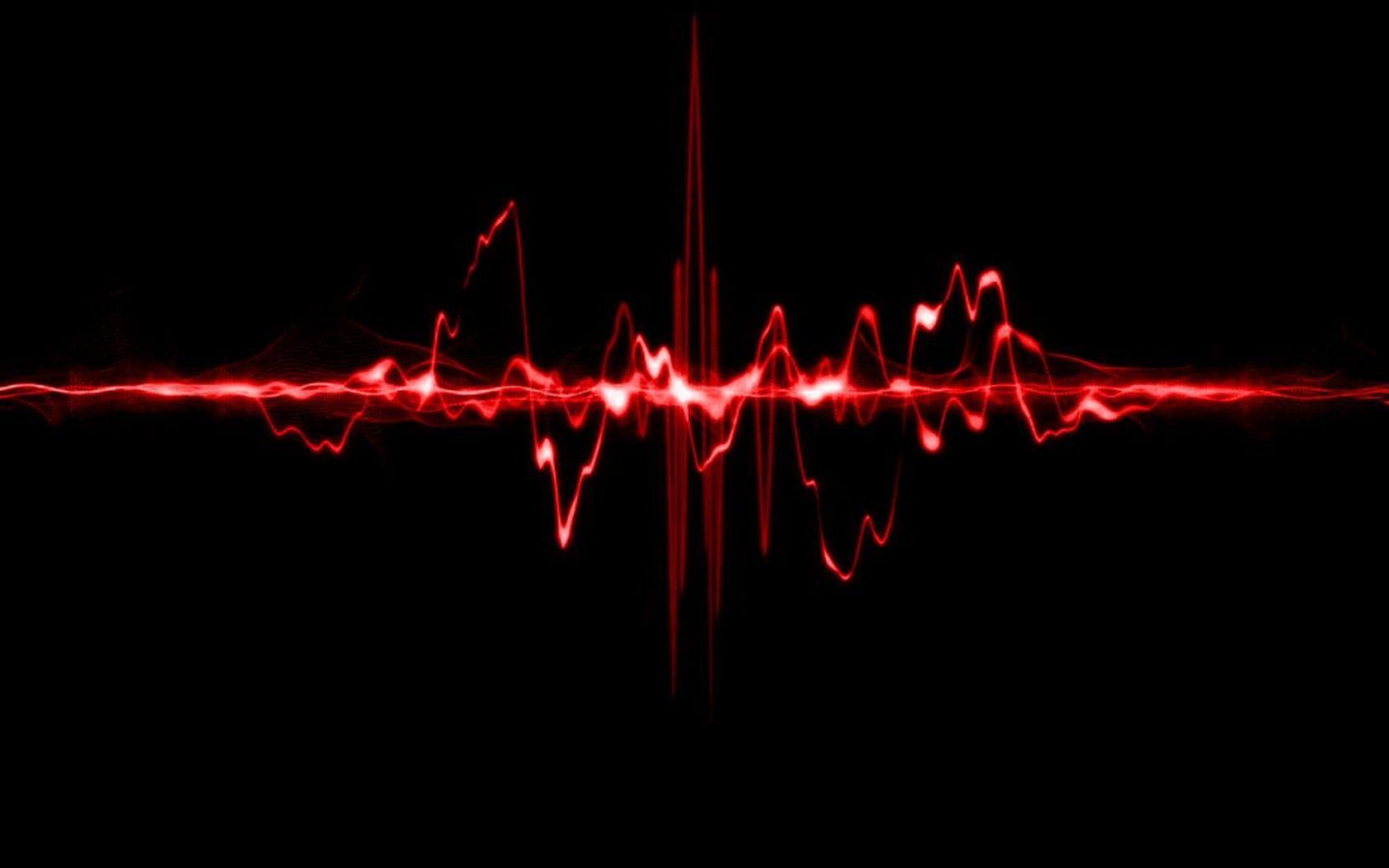 Sound wave wallpaper 7328 1680x1050