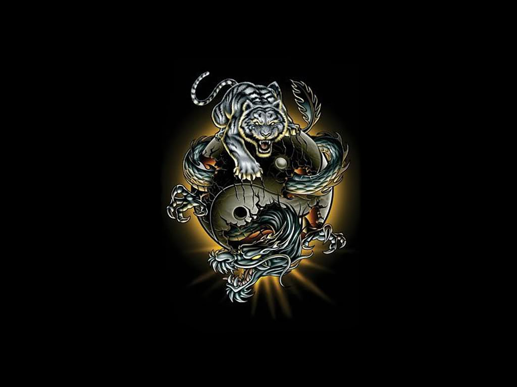Ying Yang Tiger Dragonjpg Photo by Nera427 Photobucket 1024x768