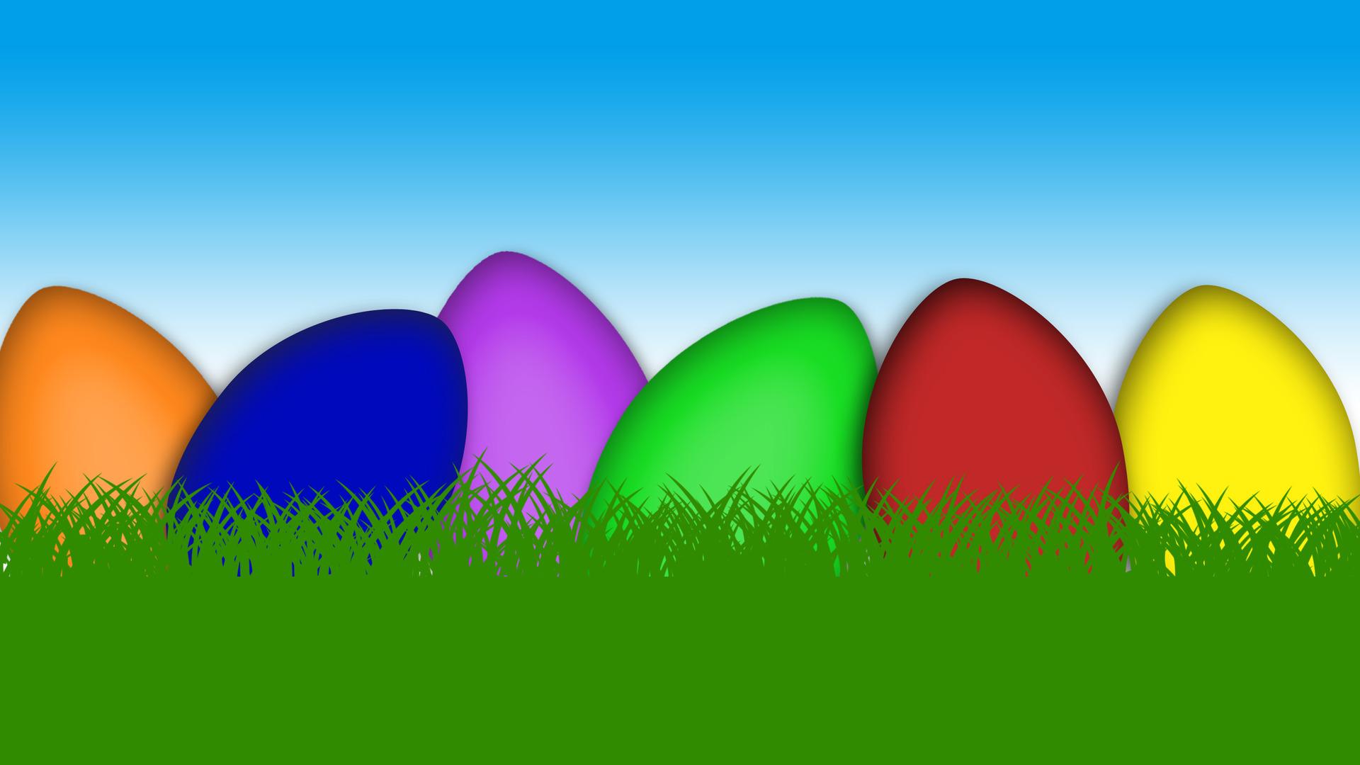 Easter eggs wallpaper 19723 1920x1080