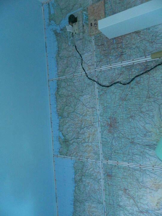 Map Wallpaper 540x720