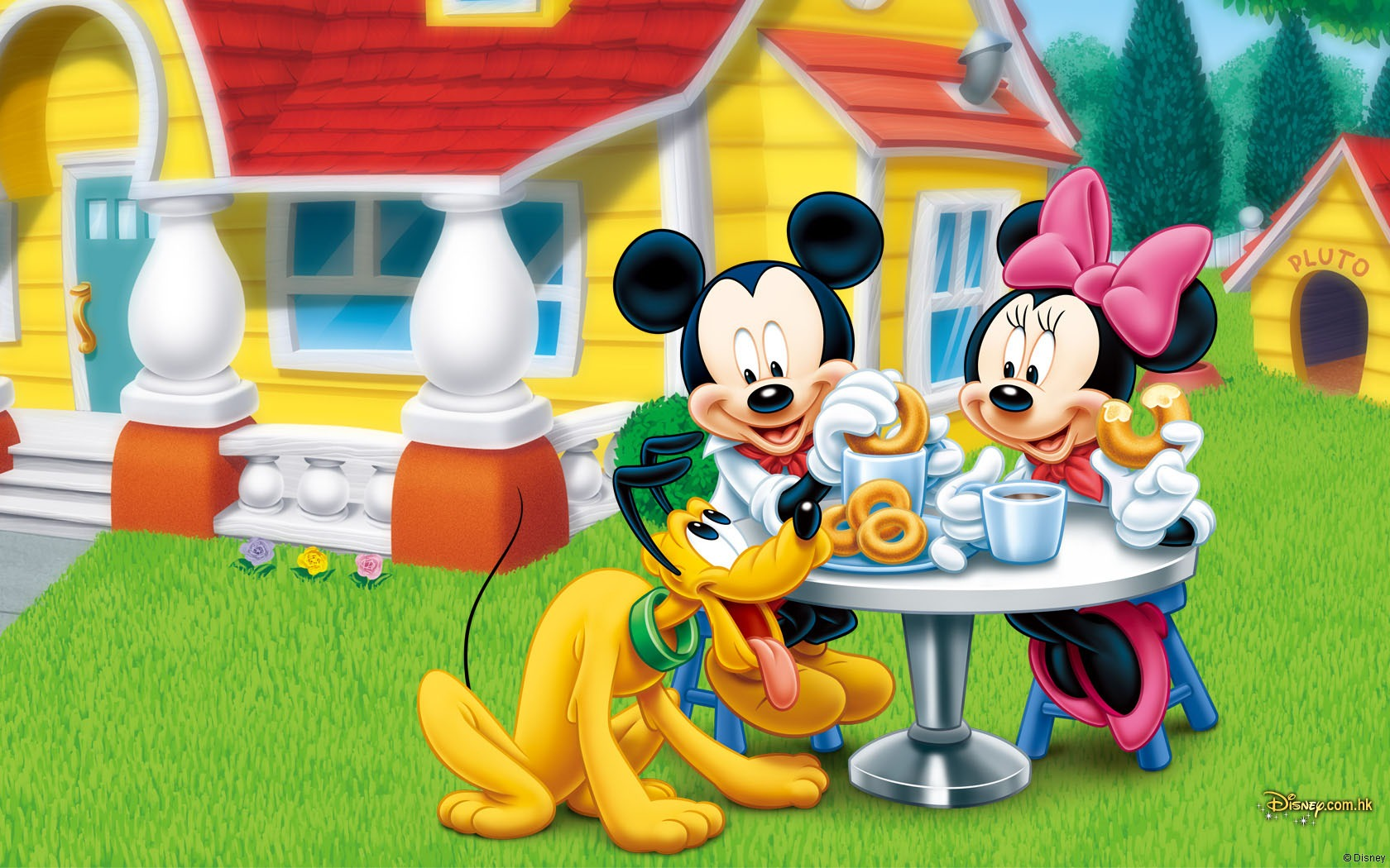 Mouse Wallpaper HD Disney cartoon Mickey Wallpaper Desktop 1680x1050