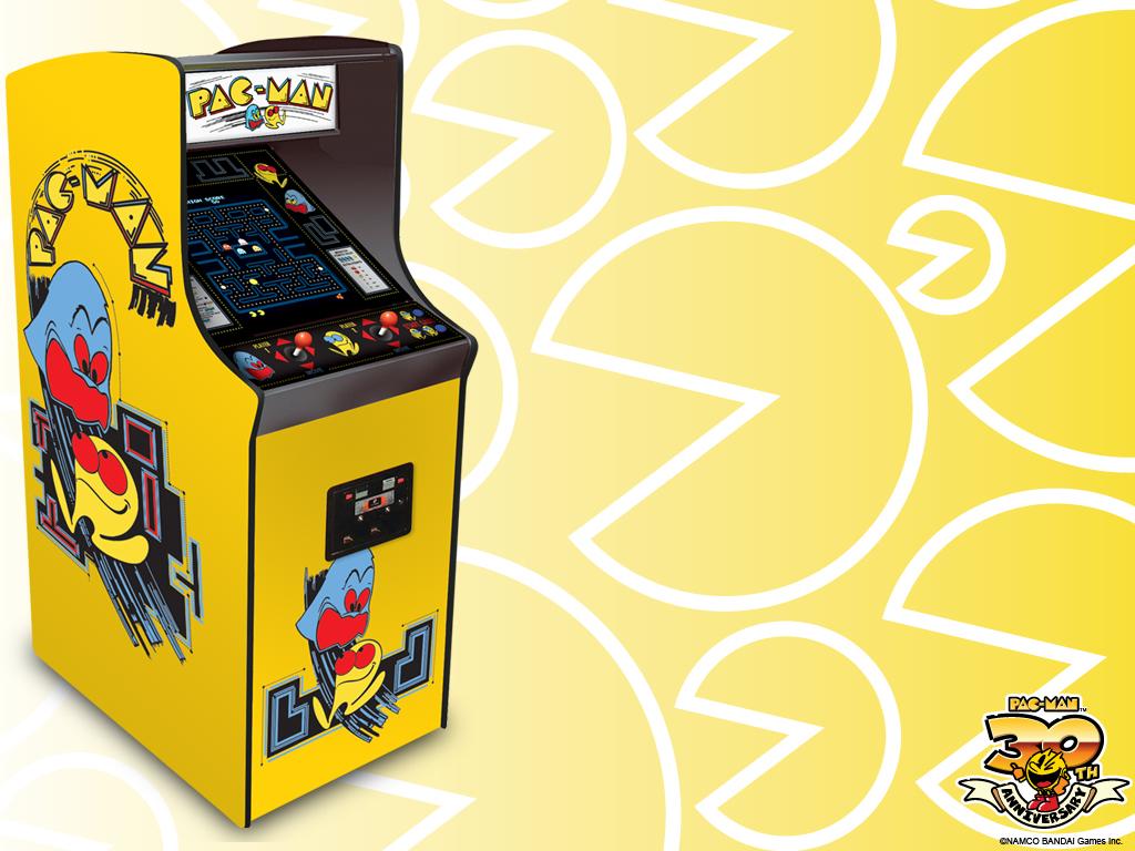 PAC MAN Wallpaper   Arcade Classic Downloads PAC MAN Official 1024x768