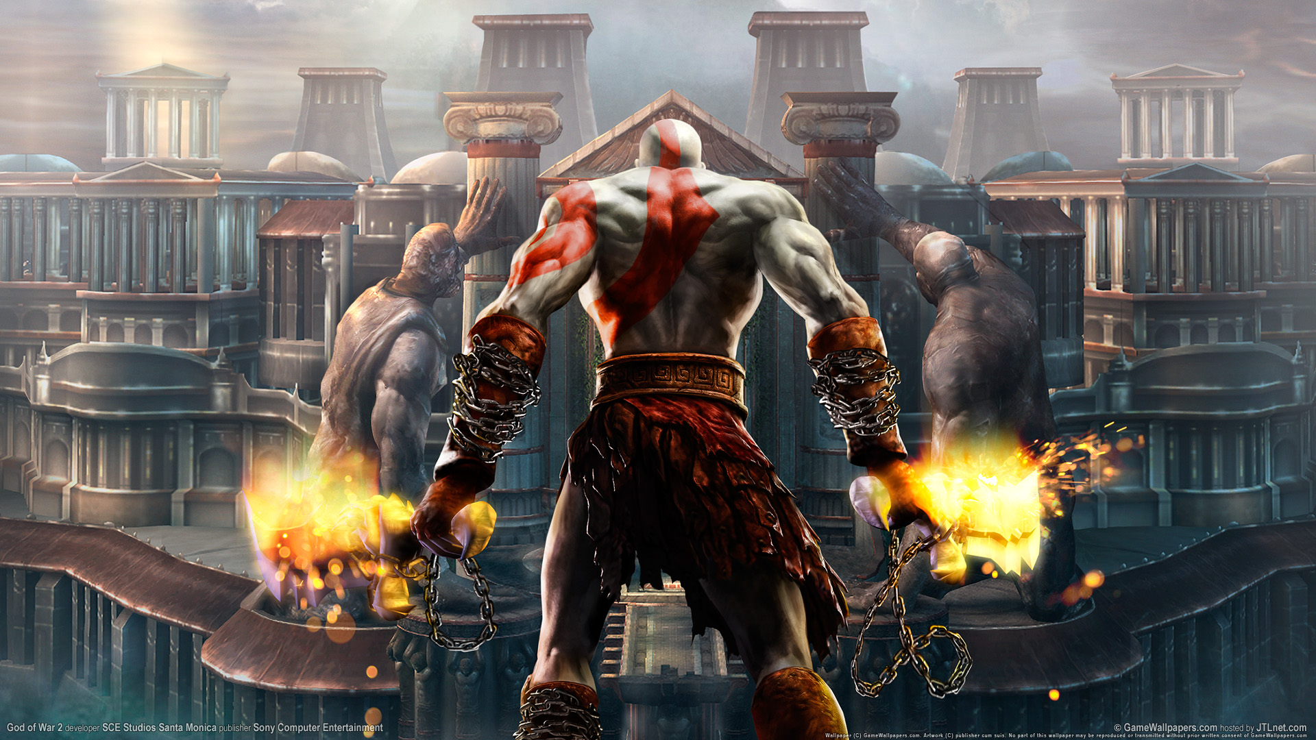 God of War 2 HD Wallpapers HD Wallpapers 1920x1080