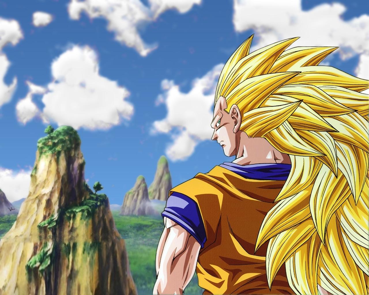 Super Saiyan 3 Wallpaper 1   Dragonball Z Movie Characters Wallpaper 1280x1024