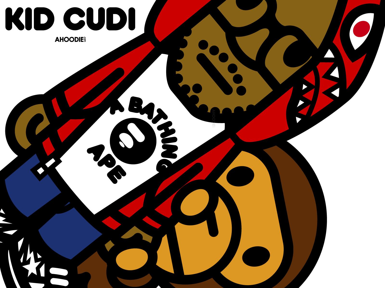 Kid Cudi Bape Baby Milo Wallpaper Desktop Background Logo Quality5jpg 1600x1200