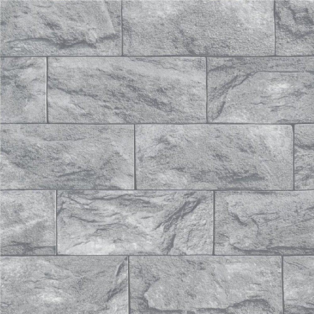 Erismann Brix Rectangular Stone Block Wallpaper 6706 10 1000x1000