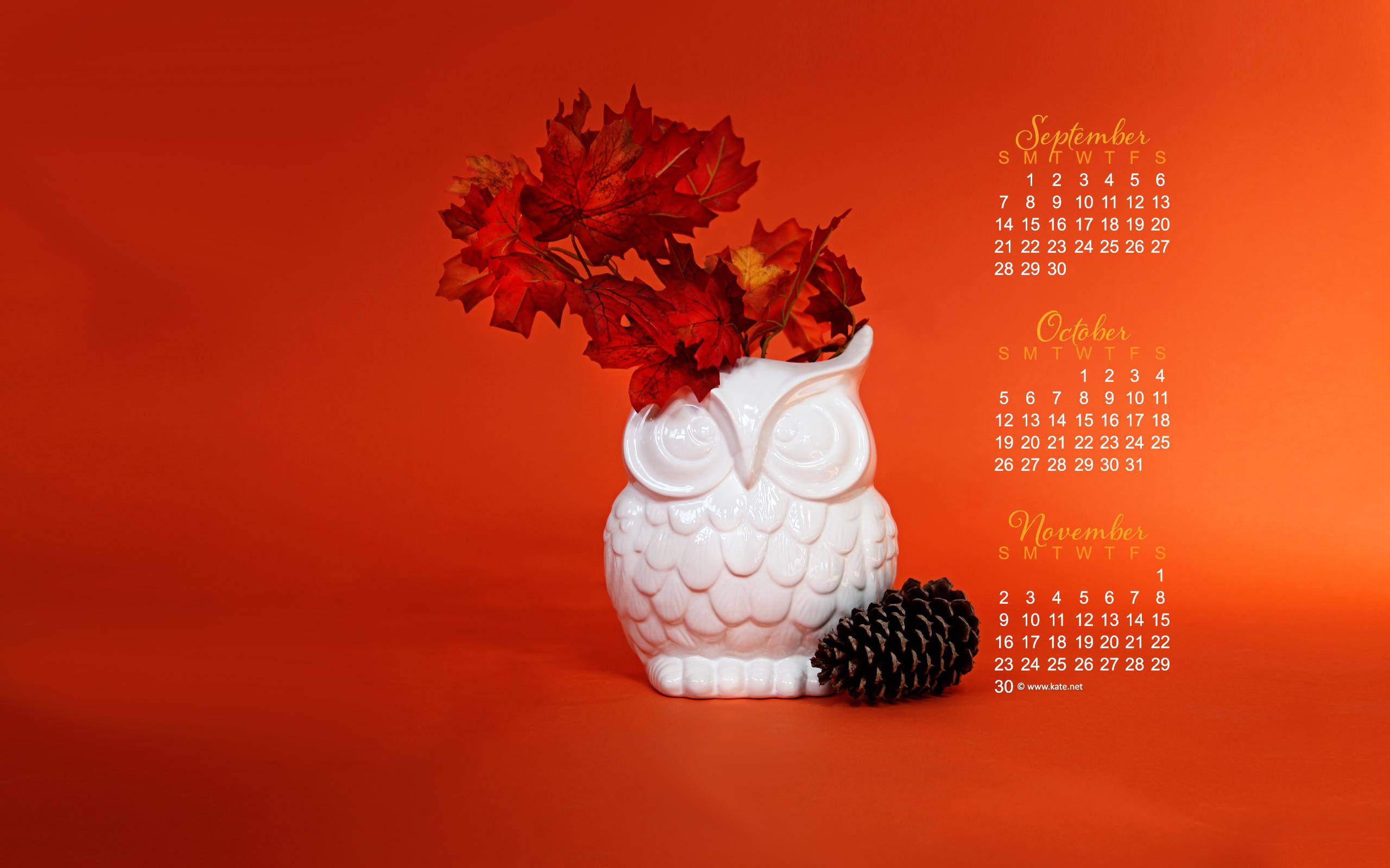 october calendar wallpaper ready for fall photo wallpaper kate net 2560x1600