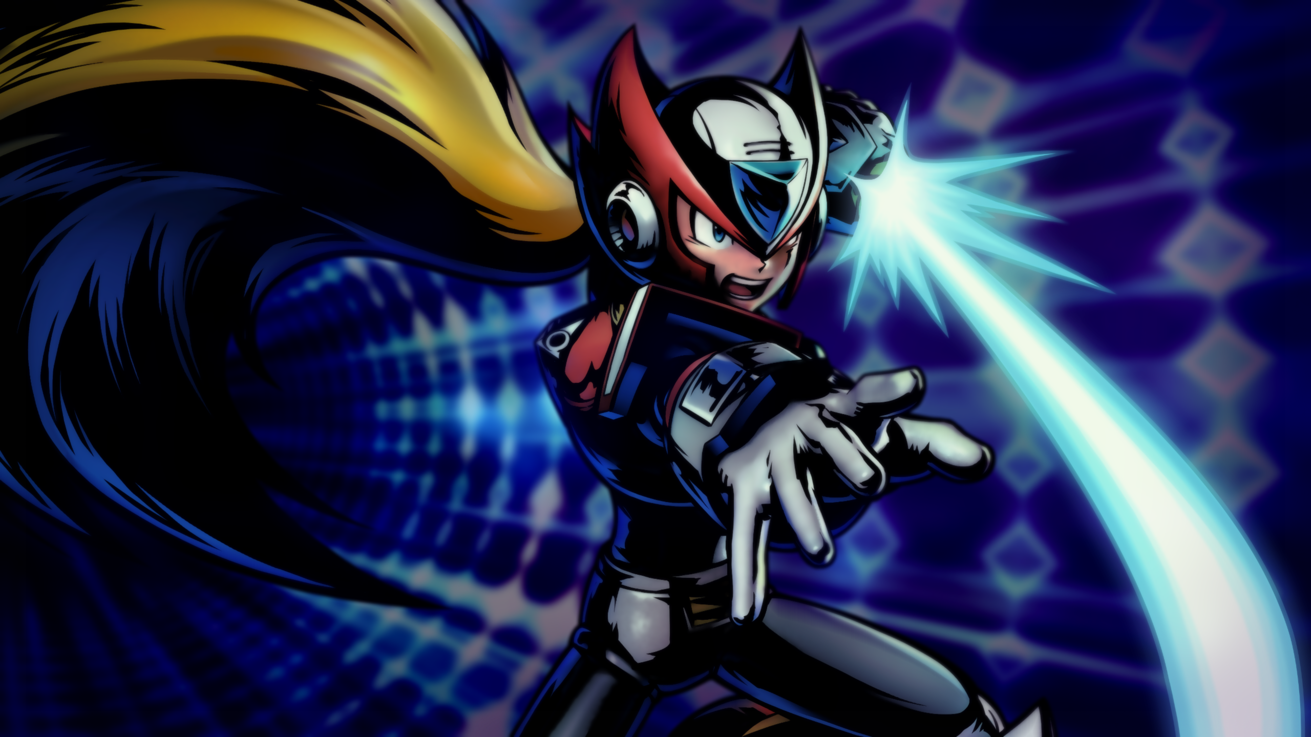 Free Download Megaman X Zero 4 By Light Rock Watch Fan Art