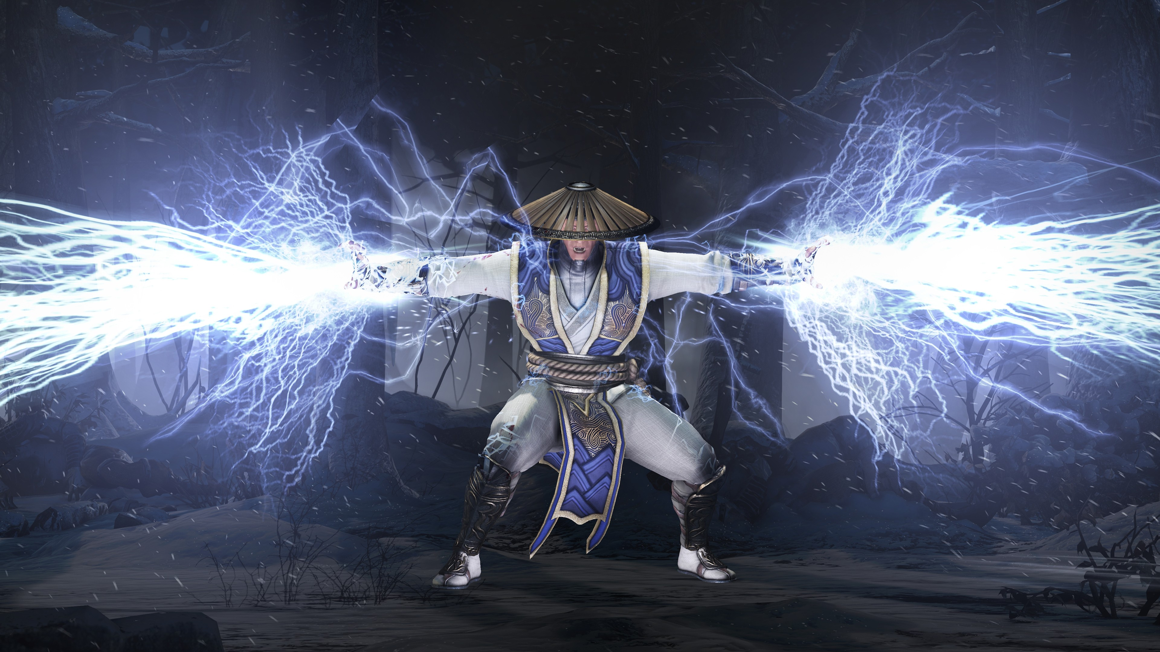Mortal Kombat X Background: Raiden Mortal Kombat X Wallpaper