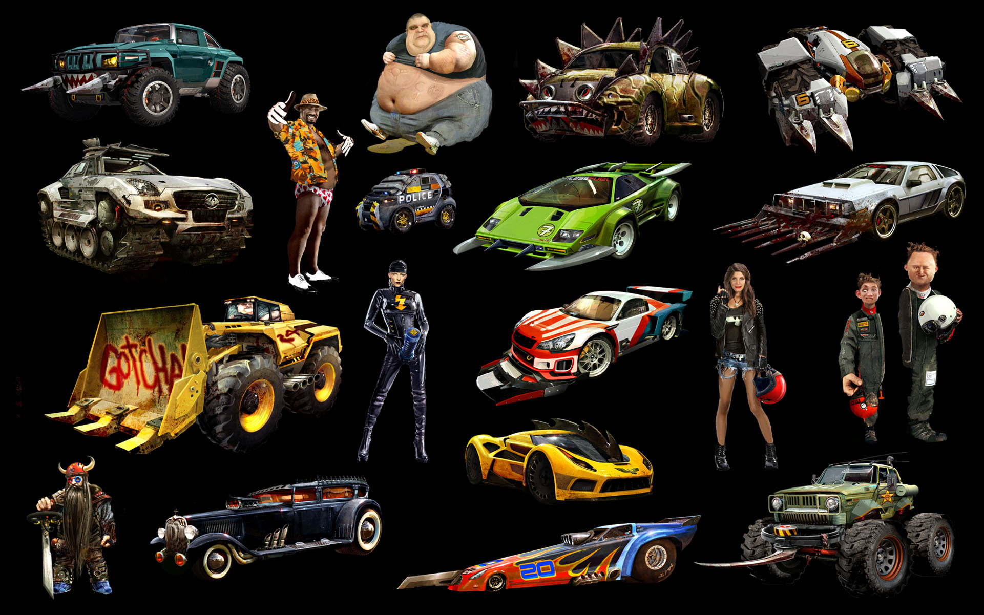 Carmageddon Reincarnation HD Wallpaper Background Image 1921x1201