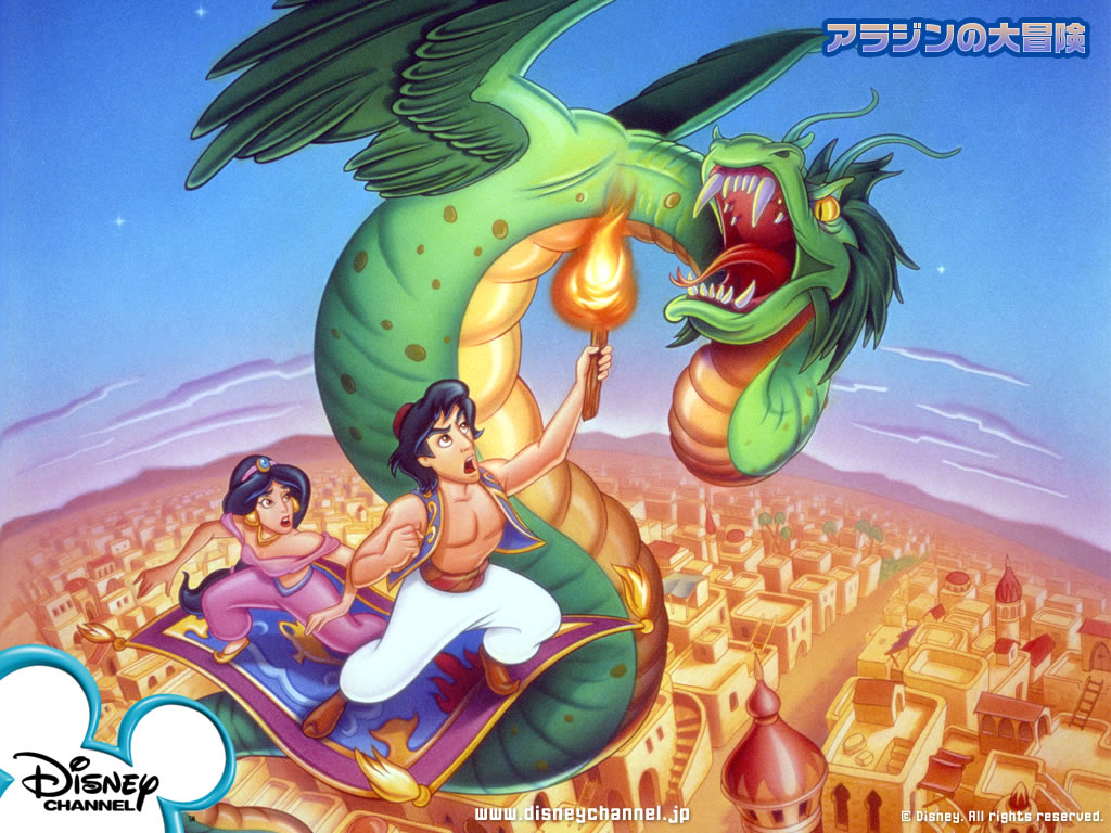 Aladdin Wallpaper Disney Desktop Wallpaper 1024x768