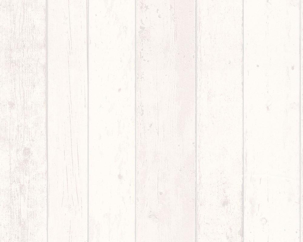 White Beige Wood Room