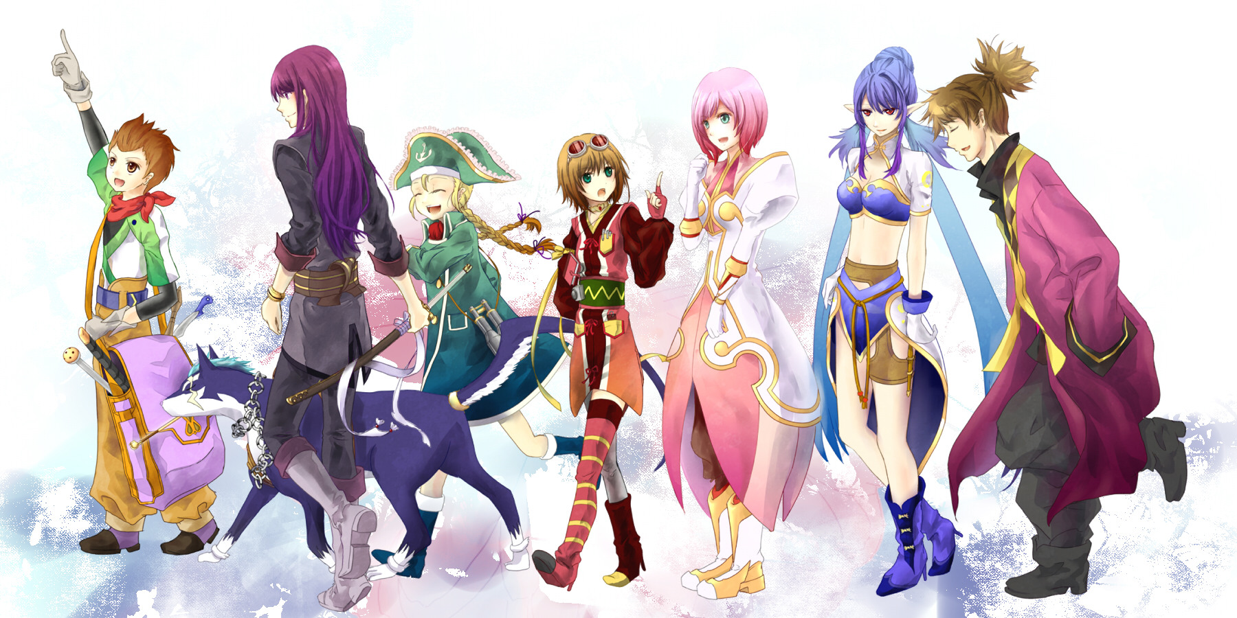 trend now a days Today here I am sharing the best Tales of Vesperia 1800x900