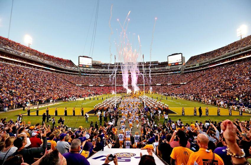 Mississippi Rebels at Tiger Stadium LSU defeated Mississippi 10 7 850x560