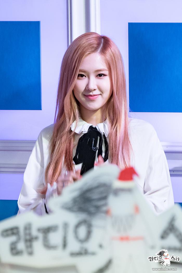 rose blackpink fashion kpop hairstyle Black Pink 700x1049