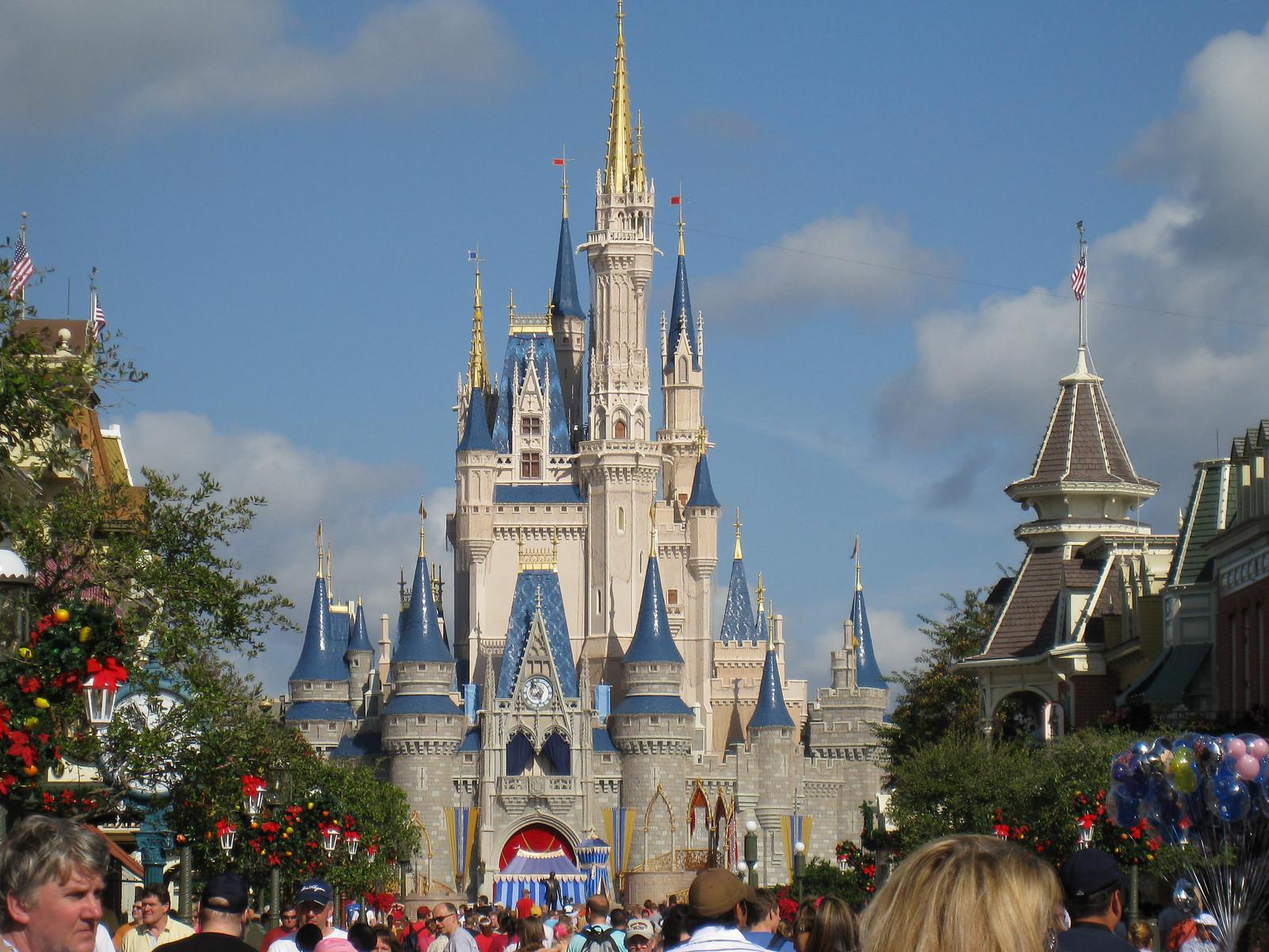 Walt Disney World Castle Wallpaper 1600x1200