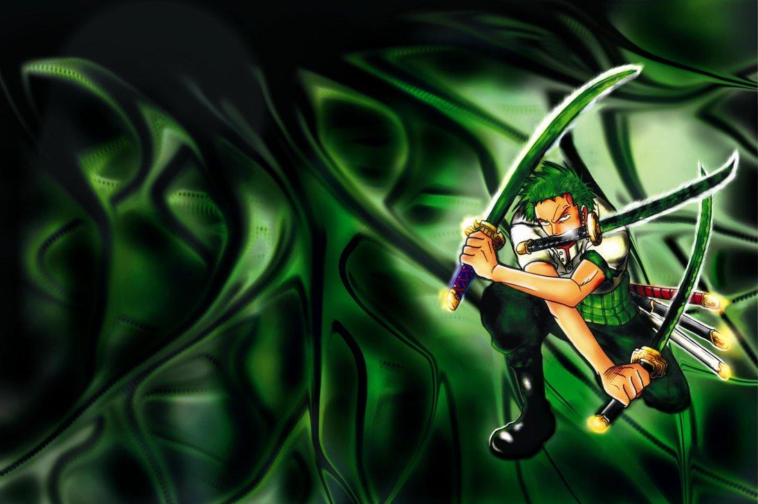 Zoro One Piece Wallpaper by jantoniusz 1096x729