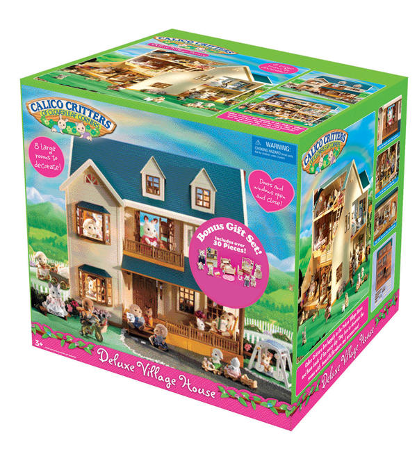 Calico Critters House Village They include calico videos 600x653