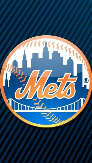 Mets Logo iPhone Background 320x568