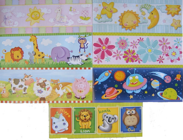 Kids Wallpaper Borders 587x450