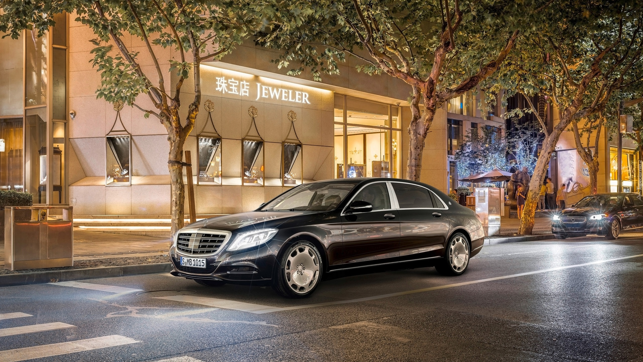Mercedes Maybach S600 Ulica 2560x1440