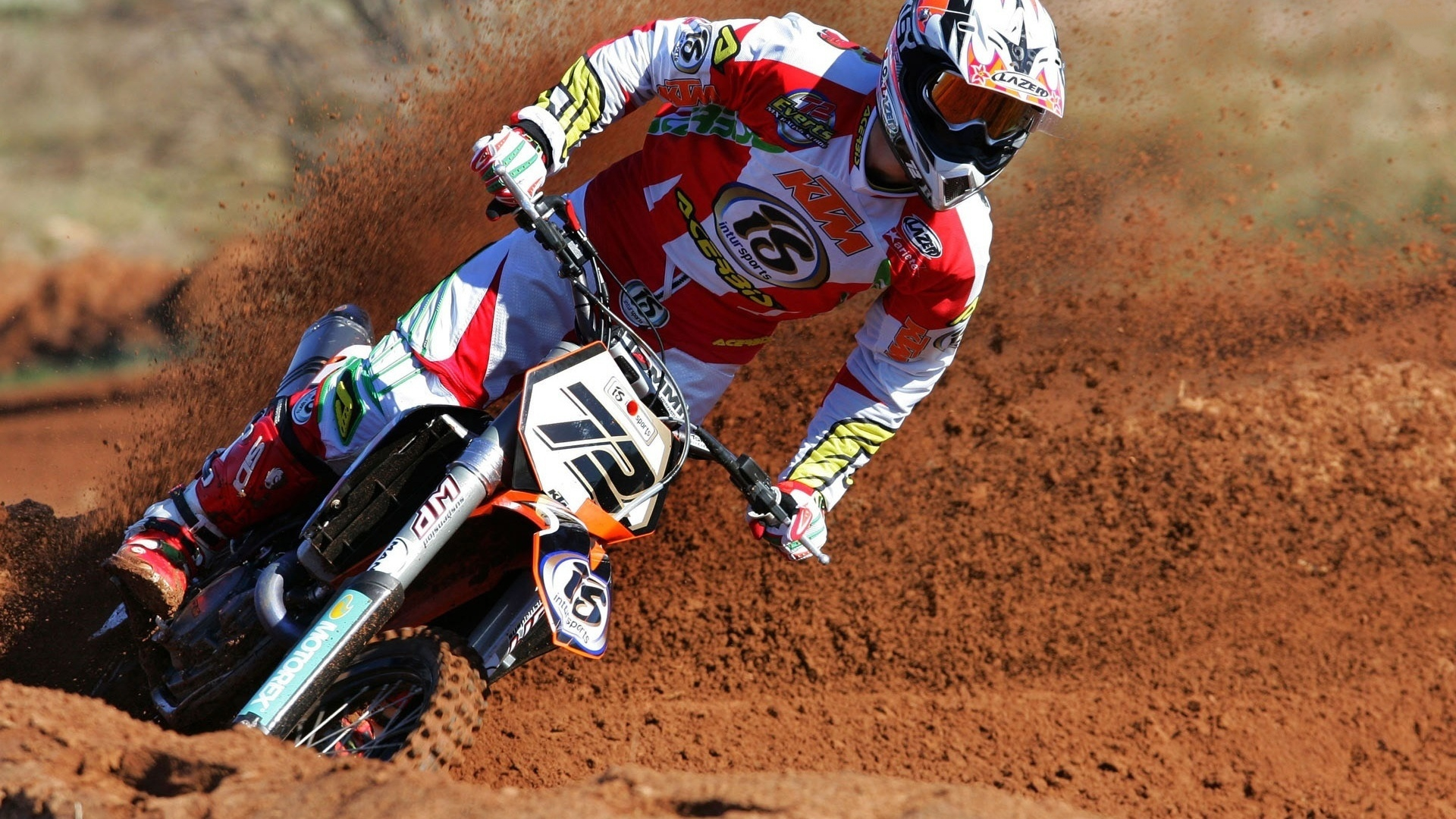 Download Motocross Ktm Wallpapers 1920x1080