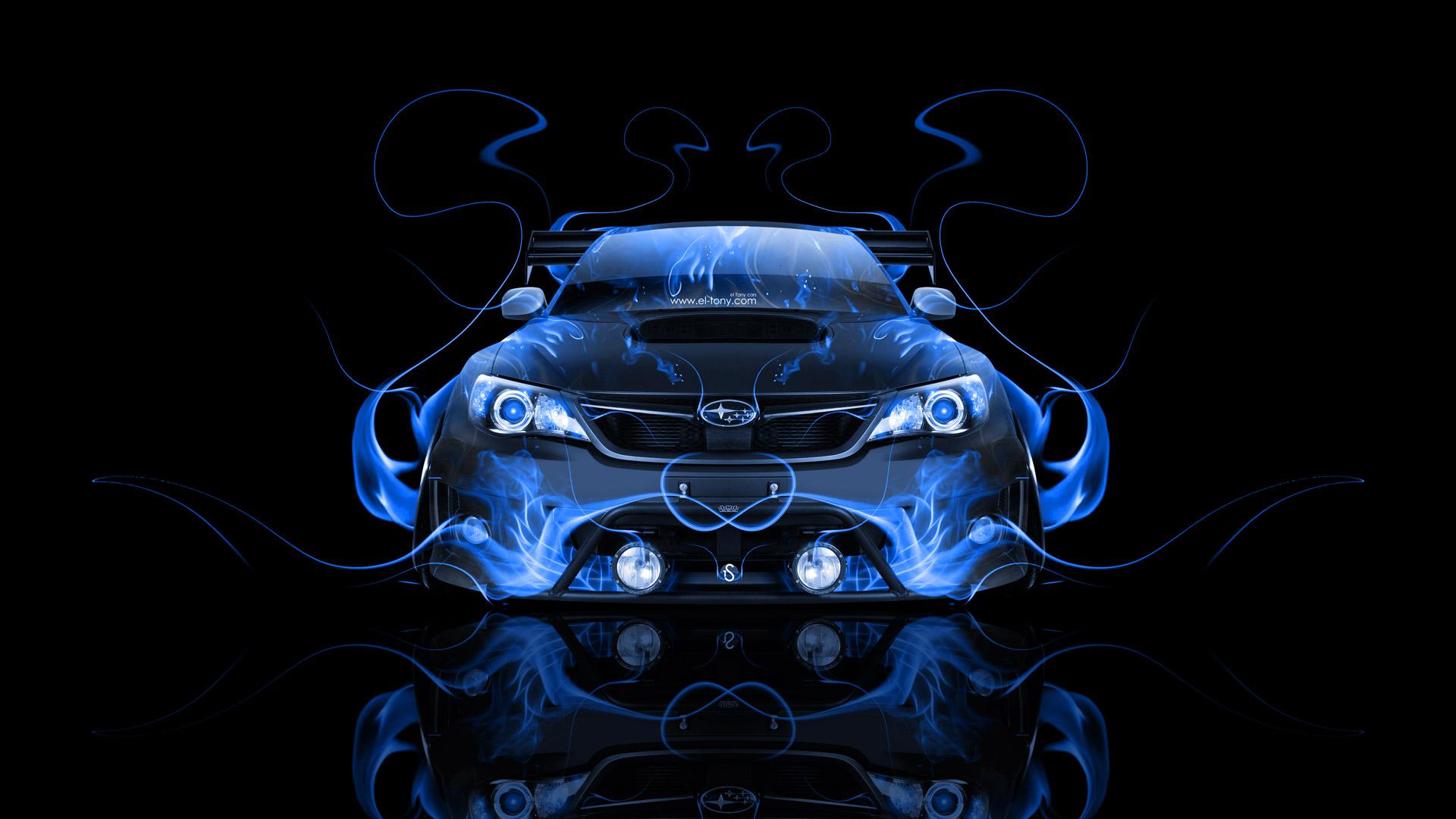 Subaru impreza wrx sti desktop wallpaper