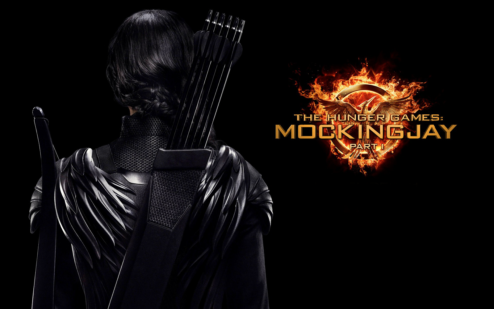The Hunger Games Mockingjay Part 1 Wallpaper HiresMOVIEWALLcom 1600x1000