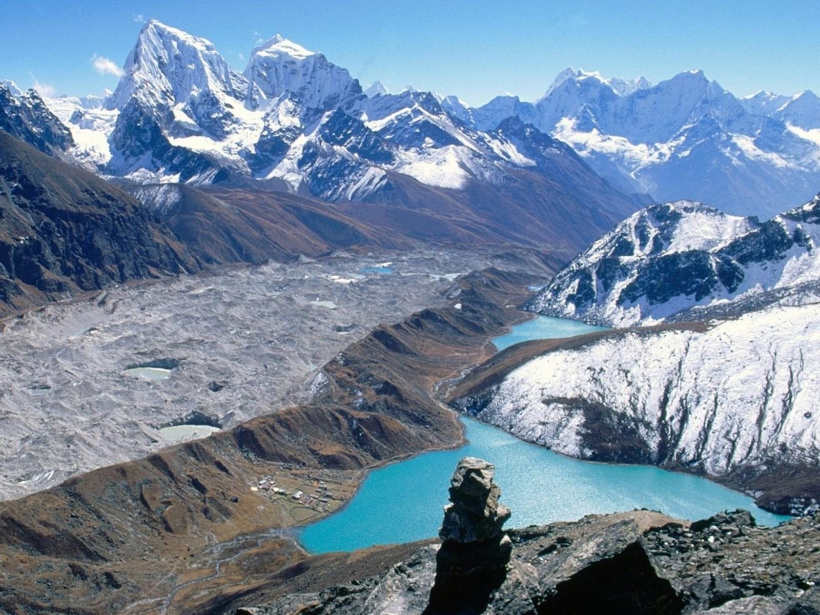 Gokyo Lakes National Park Nepal Wallpaper   HD 1600x1200