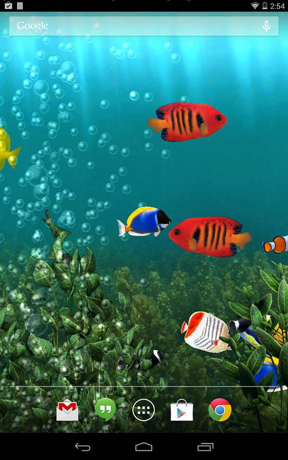 Live aquarium wallpapers for windows 8 1 wallpapersafari for Fond ecran aquarium