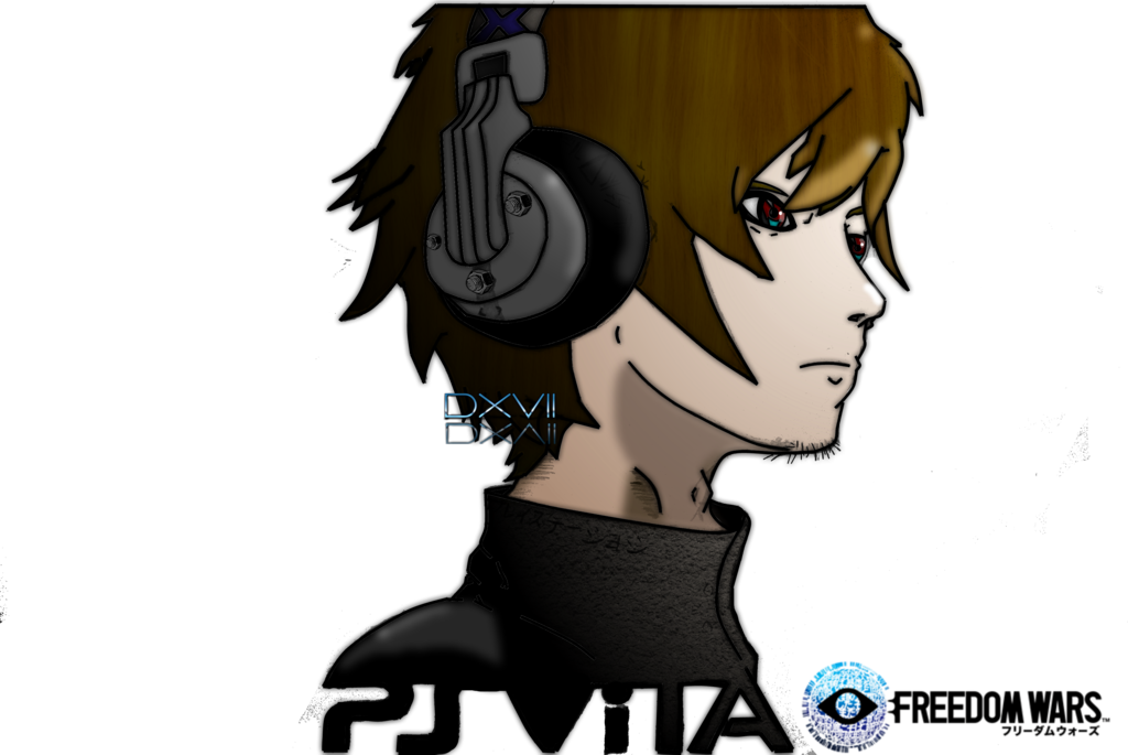 Freedom Wars Wallpaper Sketch Pt2 Colored by Dusean17 1024x685