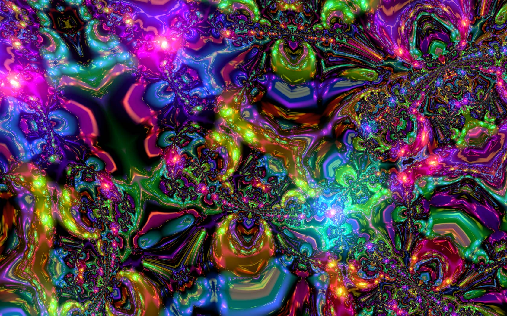 Psychedelic Trippy Abstract Hd 4 Background   Trendy Wallpapers 1680x1050